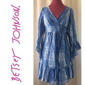 ⭐️⭐️Vintage Betsey Johnson Boho Dress
